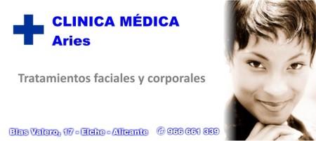 Tratamientos faciales y corporales - Clínica Médica Aries - Elche